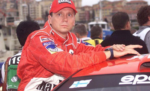 Timo Rautiainen voitti Marcus Grönholmin kartturina kaksi maailmanmestaruutta.