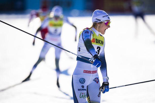 Stina Nilssonin loukkaantuminen säikäyttää Ruotsissa.