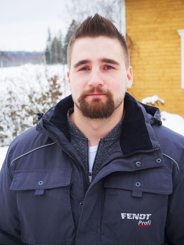 30-vuotias Antti-Jussi asuu Kangasalla.