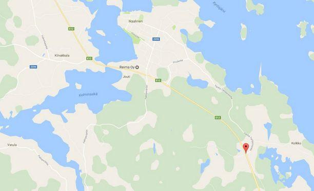 Onnettomuus tapahtui Kolmostien ja Vanhan Tampereentien risteyksessä Ikaalisissa.