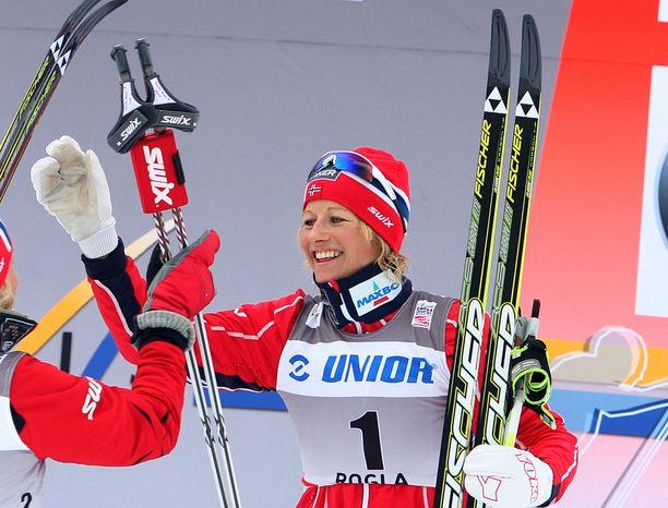 Vibeke Skofterud menehty heinäkuussa 2018.