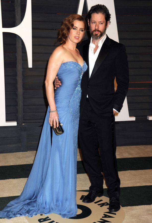 Amy Adams ja Darren Le Gallo tapasivat opetelessaan näyttelemään vuonna 2001.