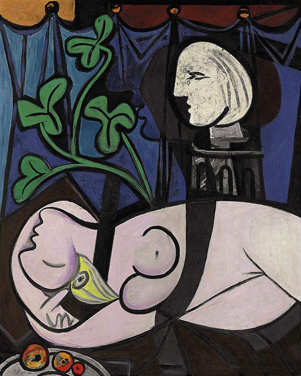 Pablo Picasson maalauksen myyntisumma ylitti odotukset kymmenillä miljoonilla.