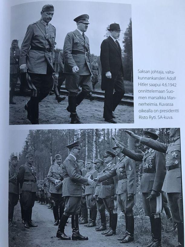 Kuvitus Pekka Visurin toimittamasta kirjasta Waldemar Erfurth sotapäiväkirja 1942-1943 (Docendo 2018).