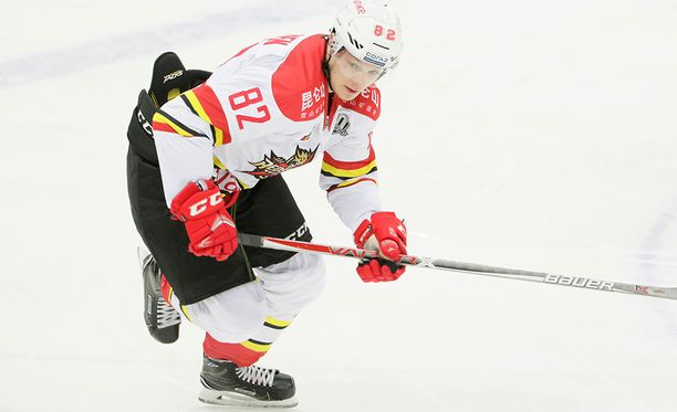 Jaakko Rissasen KHL-kausi ei ole ollut tähtiloistoa. Vitjaz myi hänet marraskuussa Kiinaan.