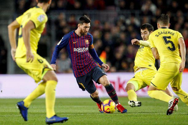 Lionel Messi antoi kauden kuudennen maalisyöttönsä La Ligassa. Argentiinalainen johtaa sarjan syöttöpörssiä.