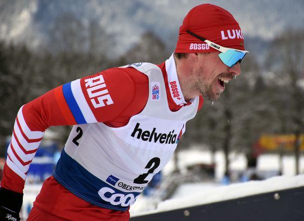 Sergei Ustjugov väsähti Tourin etapilla 6/7 lauantaina Italiassa. Kuva torstain kilpailusta.