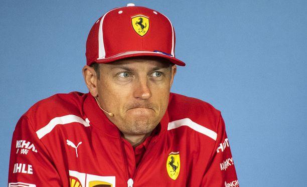 Kimi Räikkösellä ei ole F1-varikon kuuluvin ääni, mutta se on yksi tunnistettavimmista.