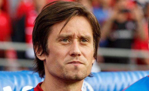 Tomas Rosickyn pitkä ammattilaisura päättyi samaan paikkaan, mistä se aikanaan alkoikin: Sparta Prahaan.