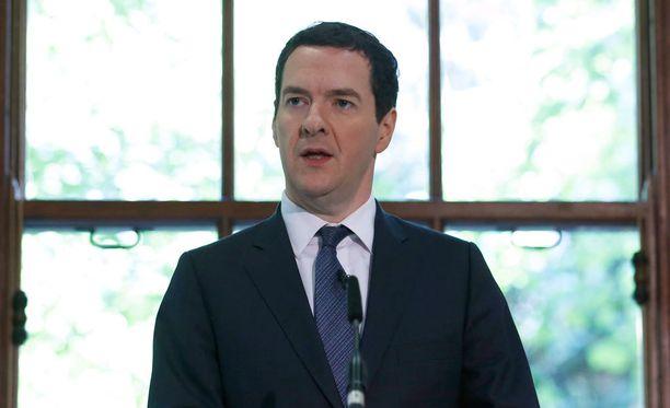 Britannian valtiovarainministeri George Osborne varoittee EU-eron seuraamuksista.