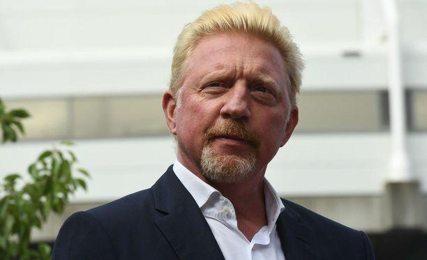 Boris Becker toimii tällä hetkellä Eurosportin kommentaattorina Australian avoimissa.