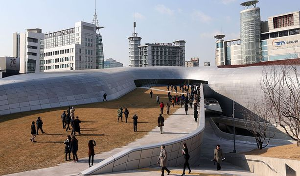Dongdaemun Design Plaza, Seoul, Etelä-Korea