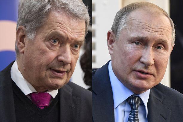 Venäjän presidentti Vladimir Putin saapuu keskiviikkona Suomeen.