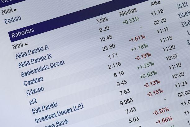 Naiset ja miehet ostavat myös erilaisia osakkeita, kertoo Uutissuomalainen. Kuvituskuva.
