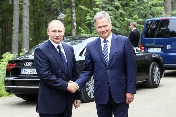 Sauli Niinistö tapasi Vladimir Putinin heinäkuussa Punkaharjulla.