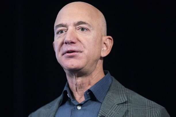 Jeff Bezosin puhelinta on saatettu vakoilla.