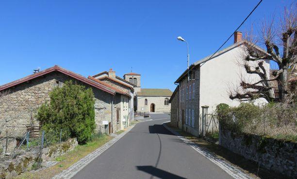 Saint-Justin kylässä on vain noin 150 asukasta.
