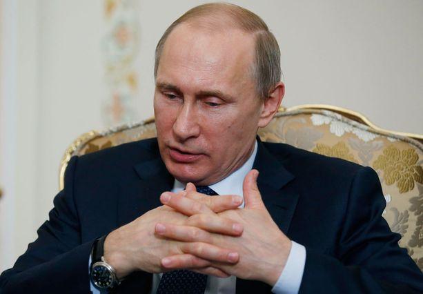 Maratonlähetystä pidetään myös näytteenä Putinin väsymättömyydestä.
