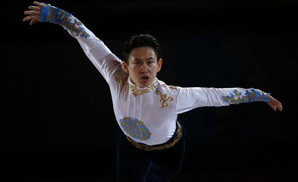Denis Ten saavutti Sotshissa pronssia ja oli myös MM-mitalisti.