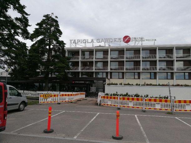Kaappaus alkoi tästä Tapiola Garden -hotellista.