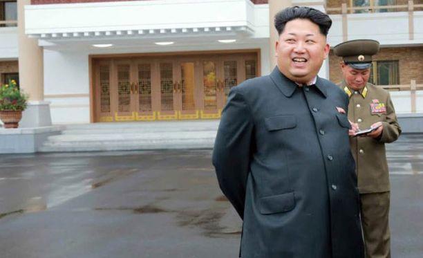 Kim Jong-un on Pohjois-Korean johtaja.
