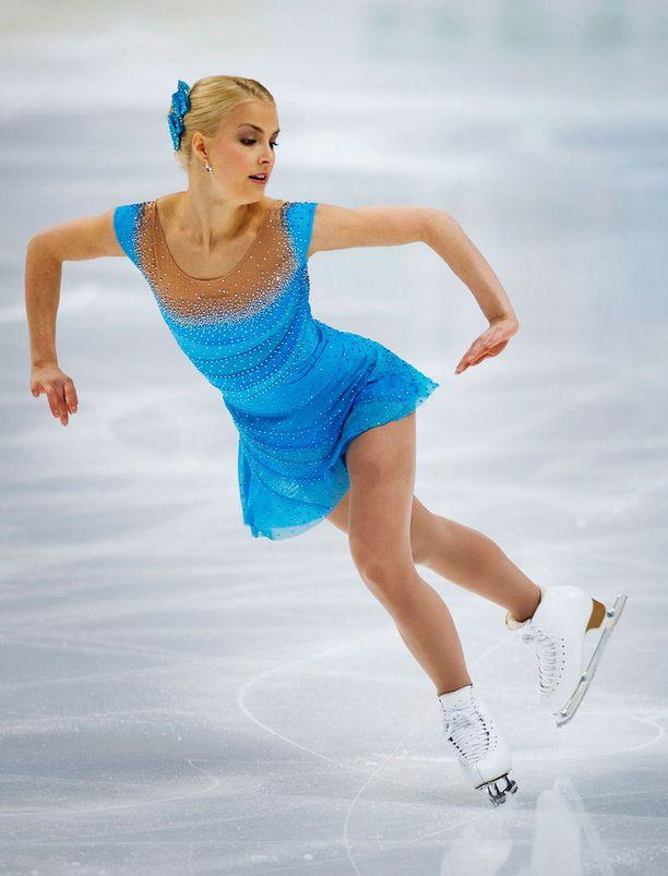 Taitoluistelun MM-kisat Moskovassa 2011. Naisten lyhytohjelma.