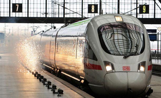 Tragedia havaittiin vasta Leipzigin päärautatieasemalla. Arkistokuva.