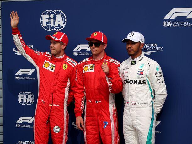 Kimi Räikkönen nappasi Italian GP:ssä uransa 18. paalupaikan. Monien F1-toimittajien mielestä Ferrari toimi aika-ajoissa väärin.