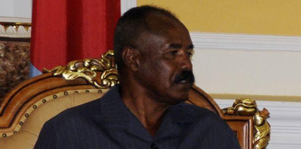 Eritrean presidentti Isaias Afwerki.