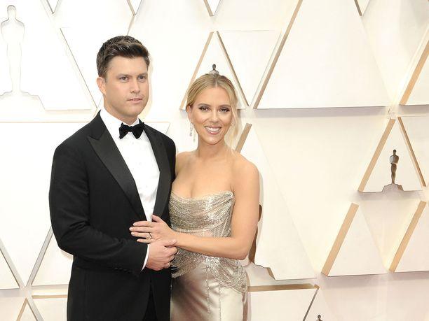 Colin Jost ja Scarlett Johansson odottavat ensimmäistä yhteistä lastaan.