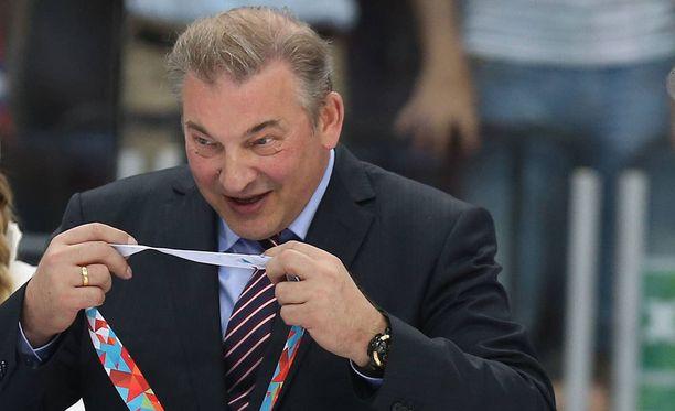 Vladislav Tretjak ei pidä puolustusvoittoisesta lätkästä.