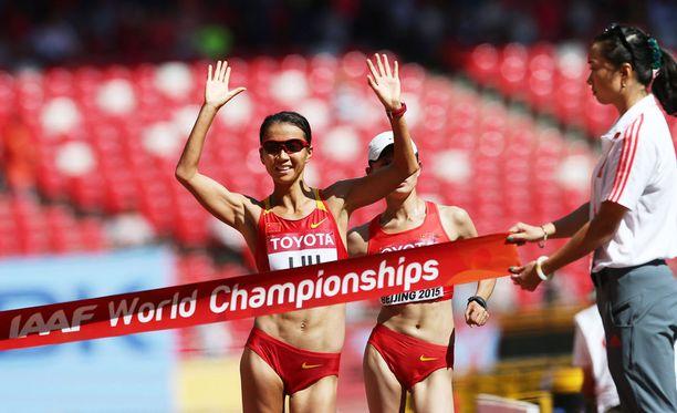 Liu Hong voitti uransa ensimmäisen maailmanmestaruuden.