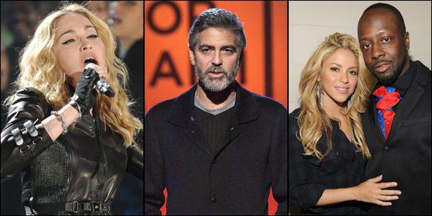 George Clooneyn organisoimassa hyväntekeväisyystapahtumassa nähtiin mittava joukko maailmantähtiä.