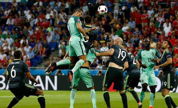 Cristiano Ronaldon puskua kelpasi ihailla.