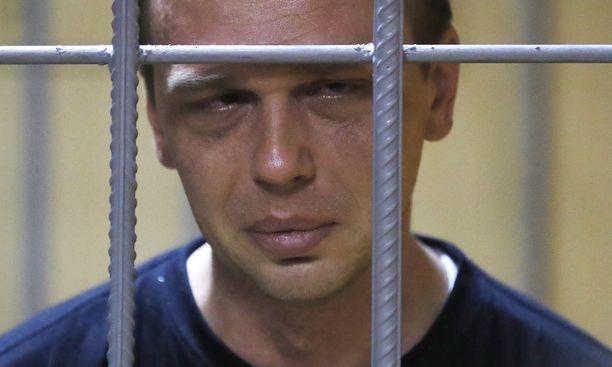 Ivan Golunov on nyt kotiarestissa.