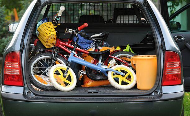 Minne kannattaa laittaa pyörä? Entä minne koira?