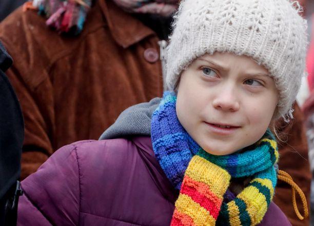 Ilmastoaktivisti Greta Thunberg ei hyväksy Kööpenhaminan kaupungin toimia.