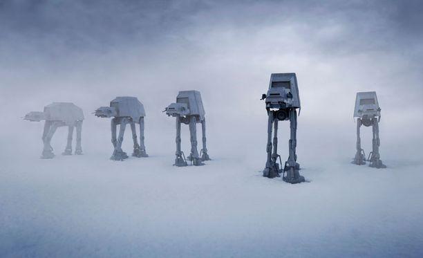Monet Tähtien sodan kuvauspaikat löytyvät maan päältä, eivätkä ne siis ole lavastustaiturien mielikuvituksen tuotetta.