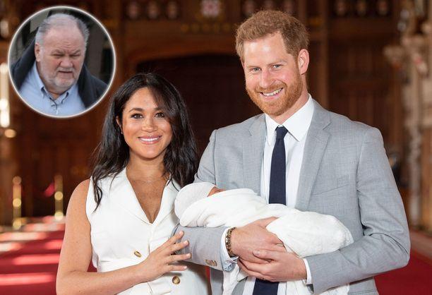 Pääseekö Thomas-isä osaksi Meghanin ja Harryn Archie-pojan elämää?