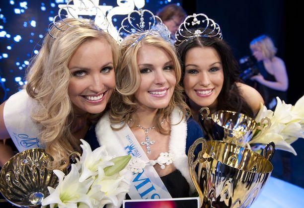Sara Sieppi on Miss Suomi Pia Pakarisen ensimmäinen perintöprinsessa.