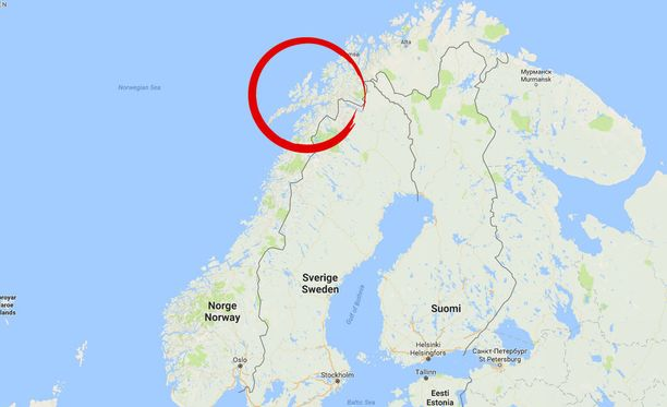 Epäillyt rikokset tapahtuivat pienessä yhteisössä Norjan Lapissa.