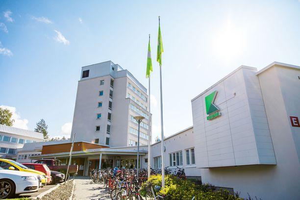 Karelia-ammattikorkeakoulu sijaitsee Joensuussa. Joona Malinen haki kouluun opiskelemaan, mutta koki karun kohtalon.