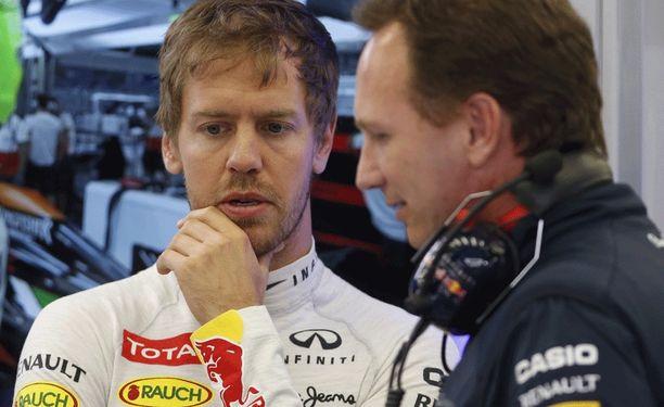 Sebastian Vettelin ja Christian Hornerin yhteistyö päättyy.