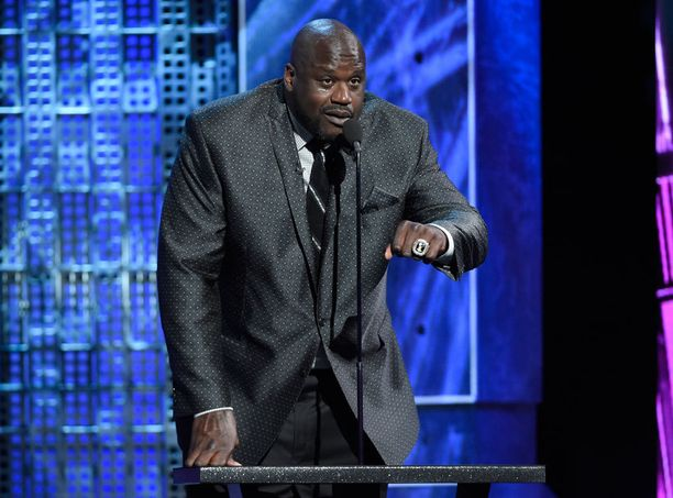 Shaquille O'Neil.