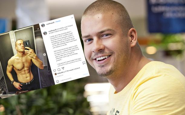 Markku Pulli tuli tutuksi Joonatan Sievisen roolista suositussa Salatut elämät -sarjassa. Kuva oikealla on vuodelta 2012.