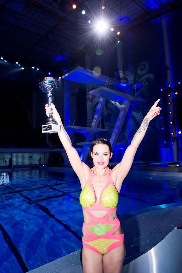 2013 Splash-uimahyppykilpailun voittaja.