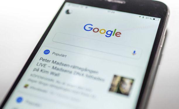 Google on tuomassa uutta viestitoimintoa. Kuvituskuva.