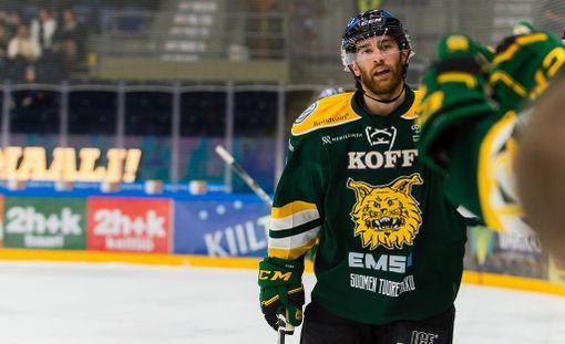 Viime kaudella D'Amigon päällä nähtiin Tampereen Ilveksen pelipaita.