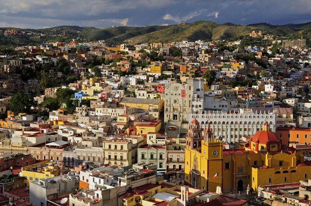 Meksikon värikäs Guanajuato.