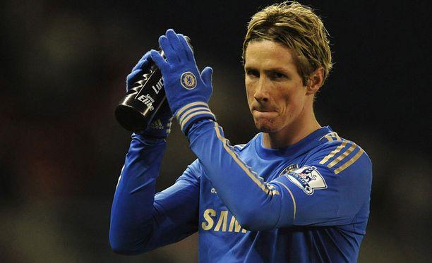 Fernando Torresin uskotaan olevan lähtökuopissa.